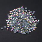 Crystal AB Iron On Hotfix Rhinestones Hot Fix Flatback White Clear Strass Stones