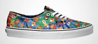 New Vans x Nintendo Authentic Super Mario Brothers Tie Dye Skate Shoes Womens