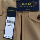 Polo/Ralph Lauren POLO GOLF Gold/ Brown Pants Links Fit NEW/NWT Retail $225.00