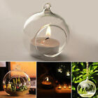 Pretty Crystal Glass Hanging Candle Holder Candlestick For Wedding/Dinner Decor