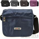 Mens / Ladies Travel / Work Nylon / Canvas Style 'Small Messenger' Shoulder Bag