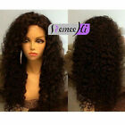 """10""""-22"""" Kinky Curly100% Brazlian Remy Human Hair Lace Front/Full Lace Wigs"""