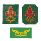 SCOUTS OF VITENAM - Extinct Old DRAGON SCOUT Highest Rank Top Award Patch SET