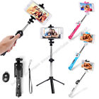 3in1 Selfie Stick Monopod Extendable Handheld Tripod Bluetooth Wireless Shutter