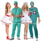 DOCTOR NURSE MENS & WOMENS FANCY DRESS COSTUME