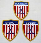USA Ice Hockey Patches Shut Out Playmaker Defense Player Recognition Award