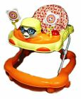 Baby Walker First Steps Activity Bouncer Musical Toy Push Along Pink Ride Face