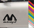 "New 15 Colors  ""im loving it"" Decal JDM Car Windows Bump Funny Vinyl Stickers"