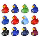 Football Team Official Vinyl Bath Time Ducks - Rubber Duck Toy Boxed - XMAS GIFT