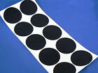 bulk 77mm FELT CIRCLES adhesive sticky back felt baize backing circles coasters