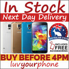 Samsung Galaxy S5 16GB 32GB G900I All Colours 4G LTE Unlocked *Fastest Delivery*