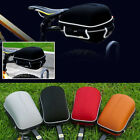 Cycling Bicycle Frame Hard Shell Pack Rear Bag with Rain Cover and Bike Rack