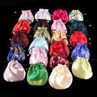 10PCS Silk Pouches Candy jewelry Drawstring gift Bags Wedding Bag
