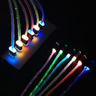 Glow LED Charger Luminescent Charging Date Sync Cable For Samsung S3 S4 S5 S6 S7