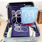 Portable Travel Drawstring Bags Shoes Dust-proof Non-woven Storage Pouch all