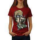 Skull Poker Card Casino Women T-shirt S-2XL NEW | Wellcoda