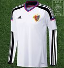 FC Basel Away Shirt - Adidas Player Issue - Mens - All Sizes - Long Sleeved
