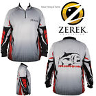 ZEREK Innovation Lures TOURNAMENT Long Sleeve FISHING SHIRT UPF 25+ INTERNATIONA