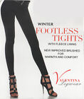 Women Ladies Girls Footless Tights Warm Thermal Tights Fleece Lined *LICK*
