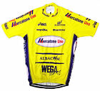 MERCATONE UNO RETRO VINTAGE CYCLING TEAM BIKE JERSEY - Marco Pantani - Size L
