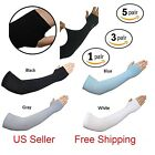 Pairs Arm Sleeves Motorcycle UV Cover Sun Protection Cooling Basketball sports