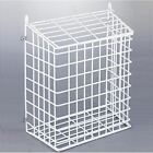 Steel Mesh White Letter Post Catcher Door Box Cage Basket Holder Guard Letterbox
