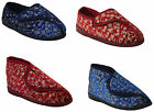LADIES WOMENS DIABETIC ORTHOPAEDIC WASHABLE BOOTS TOUCH FASTENING SLIPPERS SHOES