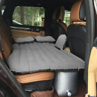 Inflatable Travel Car Mattress Air Bed Back Seat Sleep Rest Mat with Pillow Pump