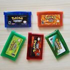 5 Pcs Pokemo Game Card Gift Advance for Nintendo NDS/NDSL/GBC/GBM/GBA/SP
