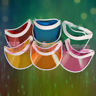 Unisex Neon Sun Visor Hat Headband Cap For Golf Stag Poker Party Lot