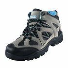 Premier Mercury Womens Scaffel Walking Hiking Trail Boots Grey Blue *B Grade*