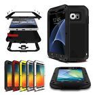 Heavy Metal Shockproof Waterproof Case Cover Glass Screen Protector for Samsung