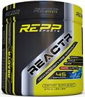REPP SPORTS REACTR PRE WORKOUT 45 SERVINGS ENERGY PUMP MOOD DMHA EUPHORIA NEW on eBay