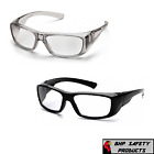 PYRAMEX EMERGE FULL MAGNIFYING READER SAFETY GLASSES GRAY OR BLACK FRAMES