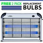 New Bug Zapper & Electric Indoor Insect Killer by LiBa - Mosquito, Bug, Fly