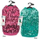 East Side Collection Sassy Sequin Dog Tank Shirt Puppy Pink or Green Misc Sizes