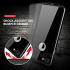 New Jet Black Mirror 360 Degree Case Cover For iPhone 7 Plus 6 6S + 1xGlass Film