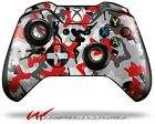 Sexy Girl Silhouette Camo Red Skin for XBOX One Controller