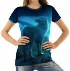 Animal Wolf Womens T-Shirt Tee wb1 acr40507