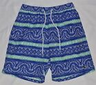 Vineyard Vines Men's Ocean Reef/Bungalow Print Swim Shorts