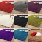 Modern Solid Shag Shaggy Rug Soft Pile Comfort Non Shed Dining Room Bedroom Home
