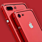 Luxury Aluminum Metal Clear Shockproof Protect Case Cover for iPhone 6s 7 Plus