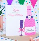 Personalised Handmade Birthday Card 18th,21st,30th,40th,50th,60th