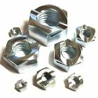 M8 Binx® Nuts - Grade 5 Steel Zinc Plated - Self Locking 8mm Lock