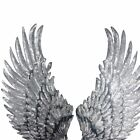 Gold/Silver Sequin Wings, Sew On Patch, Jacket, Clothing
