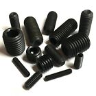 1.6mm 2mm 2.5mm 3mm 4mm High Tensile Black Socket Cup Point Grub Screws - Allen