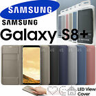 SAMSUNG Galaxy S8+ SM-G955 genuine LED VIEW Wallet Cover EF-NG955 w/ retail box