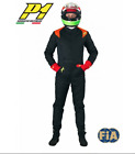 P1 PASSION-3 FIA APPROVED 3 LAYER RALLY RACE SUIT BLACK or SILVER **LAST FEW**