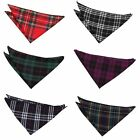 DQT Premium Woven Jacquard Tartan Wedding Handkerchief Pocket Square Hanky