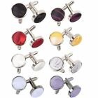 NEW DQT PASSION SILVER PLATED CUFFLINKS